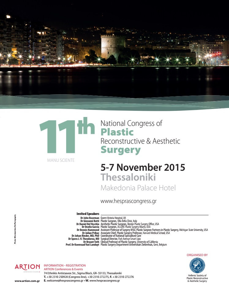 11th National Congress of Plastic Reconstructive and Aesthetic Surgery